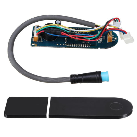 Image of Circuit Board+Dashboard Cover Replacement for Xiaomi MIJIA M365 Scooter-Electric Scooters London