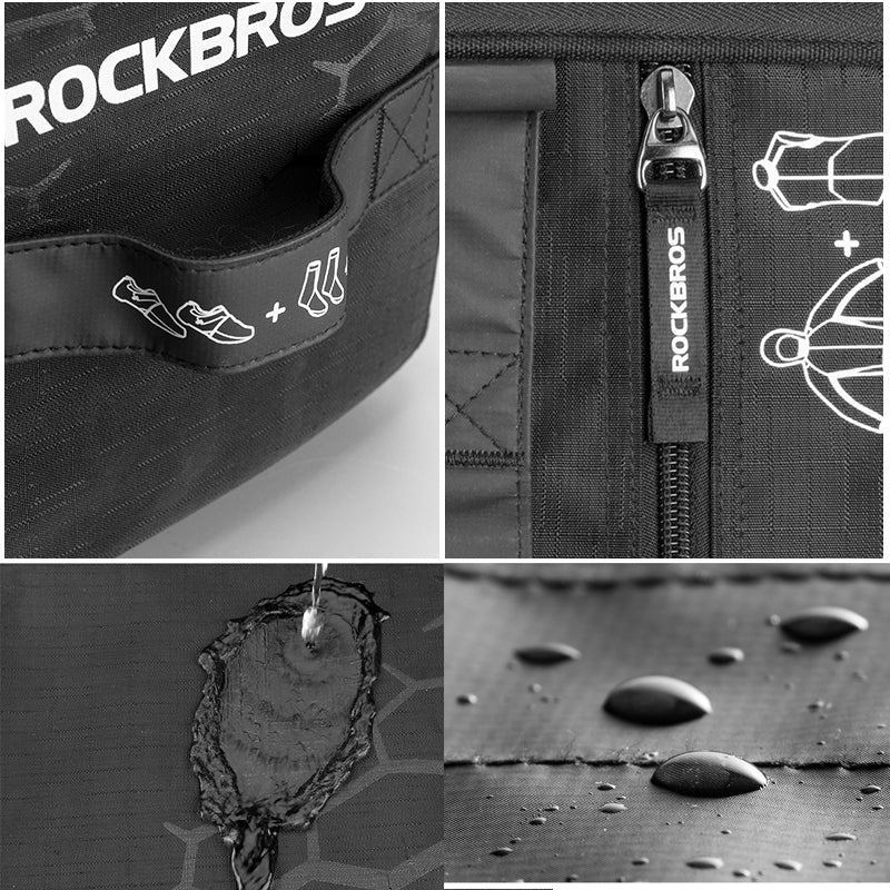 ROCKBROS Waterproof Sports Bag With Rain Cover-Electric Scooters London