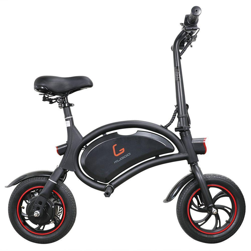 Kugoo KIRIN B1 Seated Electric Scooter-Electric Scooters London