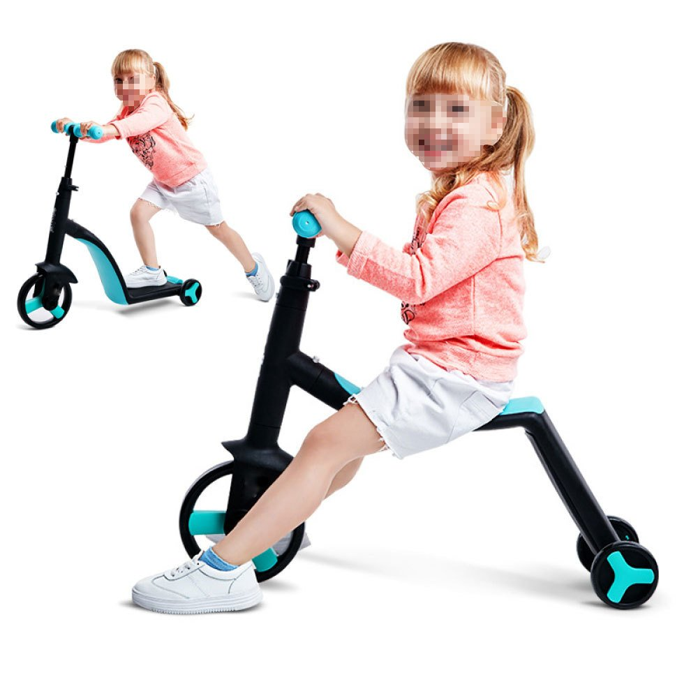 CityBot City Kids Three-in-one Trike Scooter Balance Bike for Age 1-6 Years-Electric Scooters London