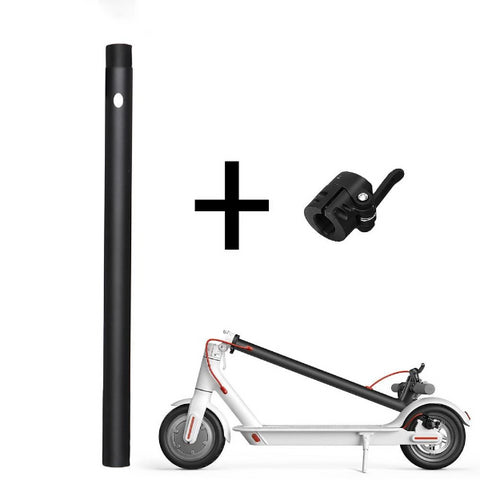 Image of Replacement Folding Pole + Base For Xiaomi M365 Electric Scooter-Electric Scooters London