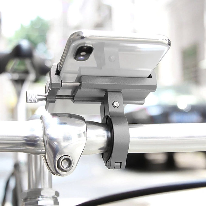 Adjustable Aluminum Bicycle Smartphone Mount-Electric Scooters London