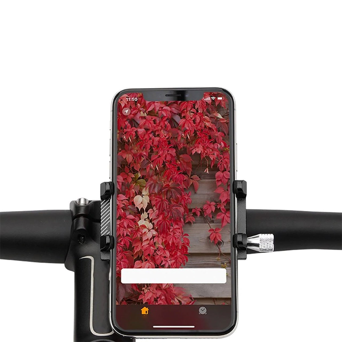 Adjustable Aluminium Bicycle Smartphone Mount-Electric Scooters London