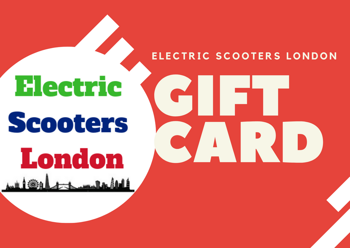 Electric Scooters London Gift Card-Electric Scooters London