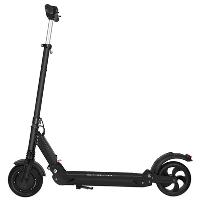 INVICTUS KUGOO S1 Folding Electric Scooter 350W Motor LCD Display - Black-Electric Scooters London