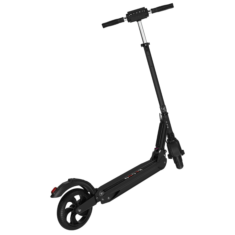 KUGOO S1 Folding Electric Scooter 350W Motor LCD Display - Black-Electric Scooters London