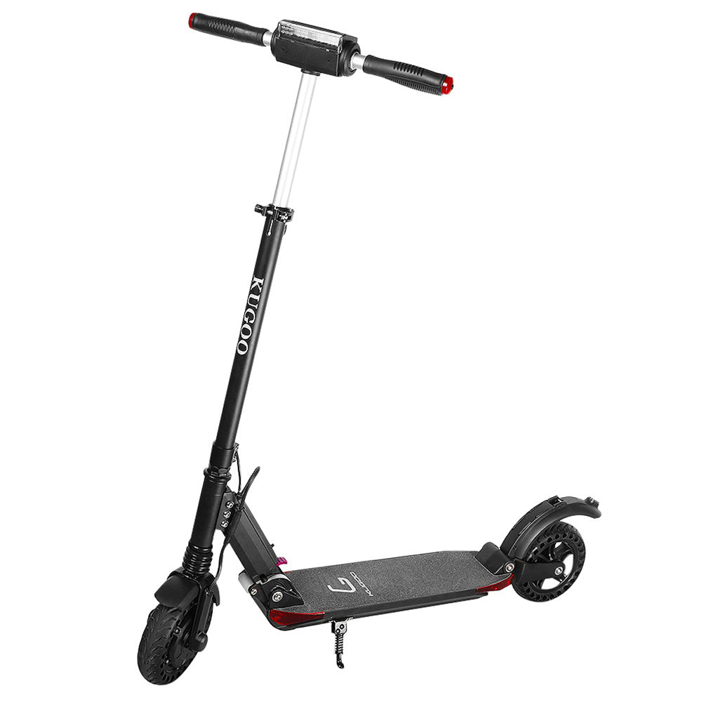 KUGOO S1 PRO Folding Electric Scooter 350W Motor With Colour LCD Display - Black-Electric Scooters London
