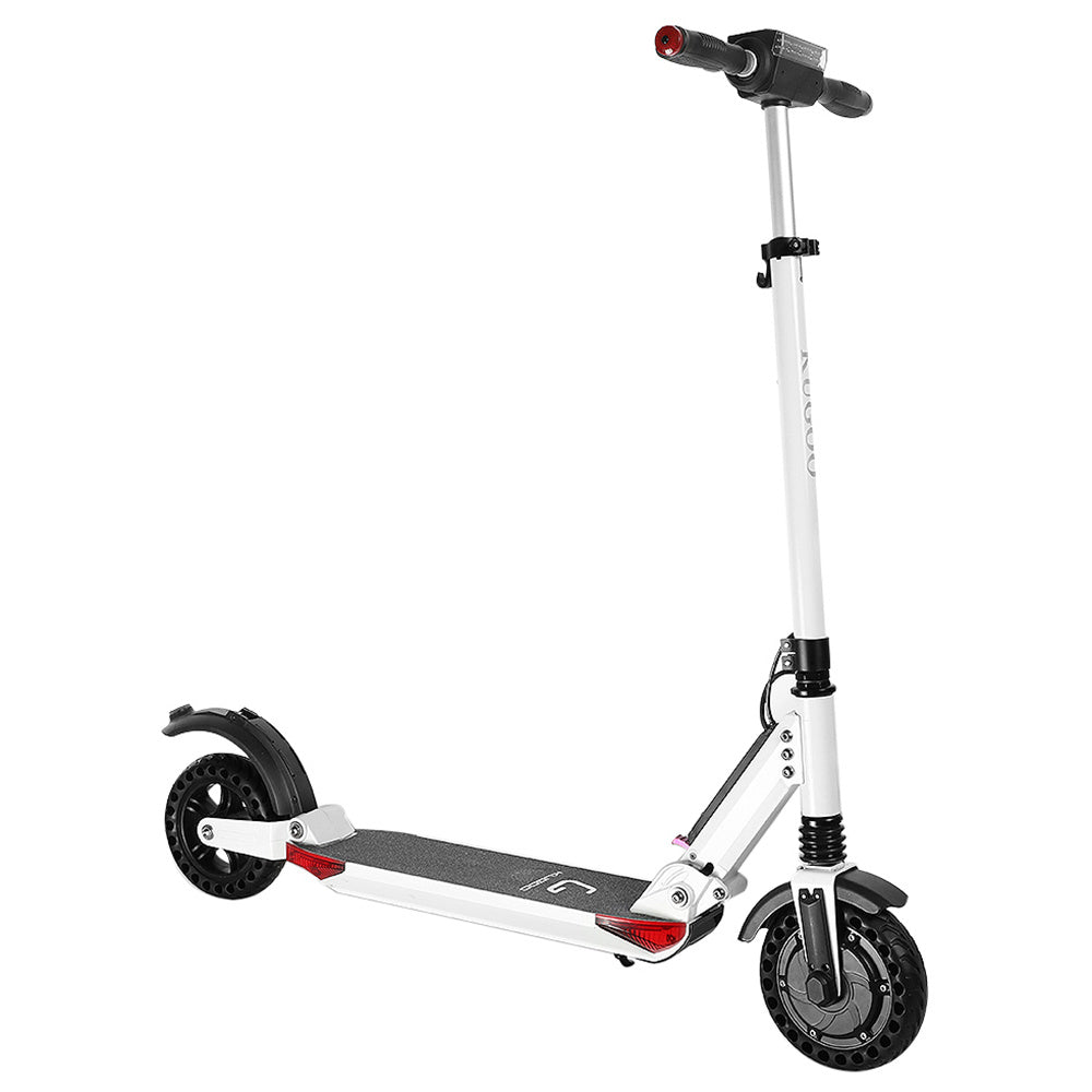 INVICTUS KUGOO S1 PRO Folding Electric Scooter 350W Motor With Colour LCD Display - White-Electric Scooters London