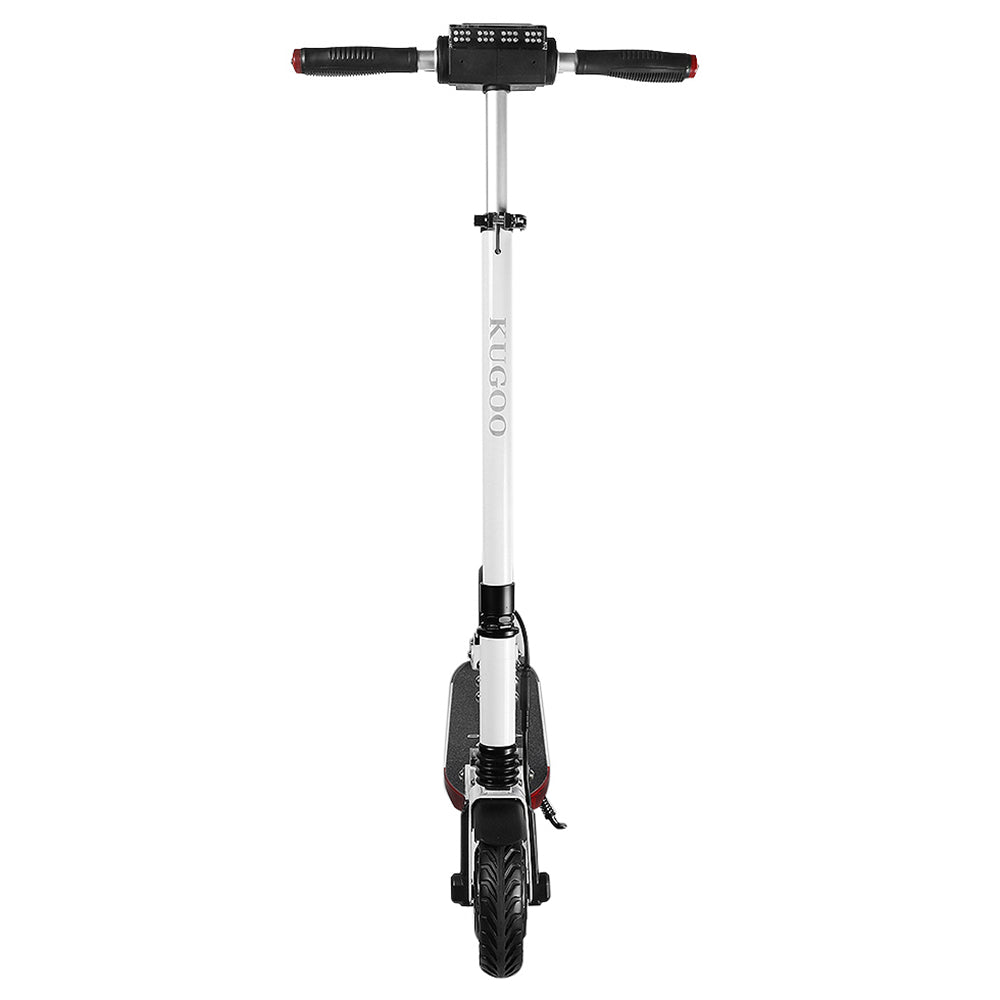 KUGOO S1 PRO Folding Electric Scooter 350W Motor With Colour LCD Display - White-Electric Scooters London