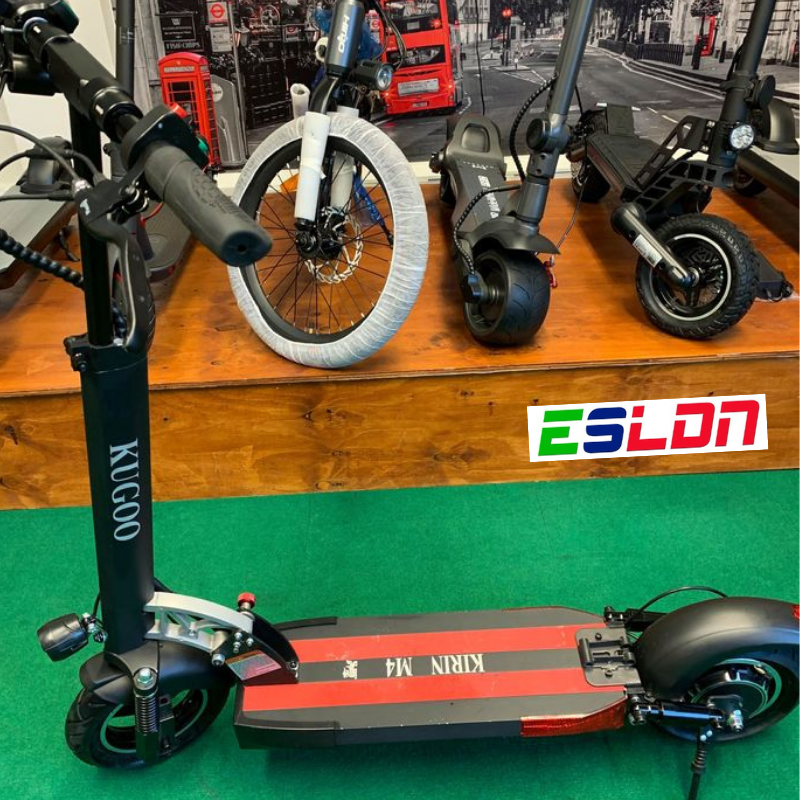 KUGOO KIRIN M4 Electric Scooter - Used-Electric Scooters London
