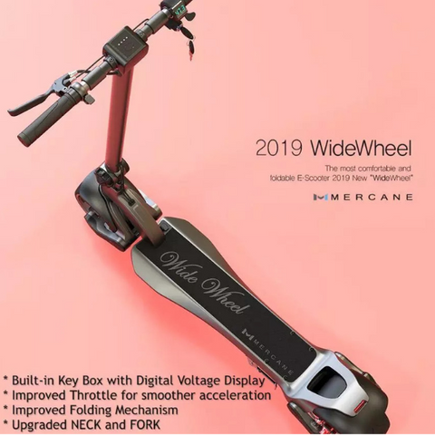 Image of MERCANE WideWheel Upgraded 2019 Version  Electric Scooter