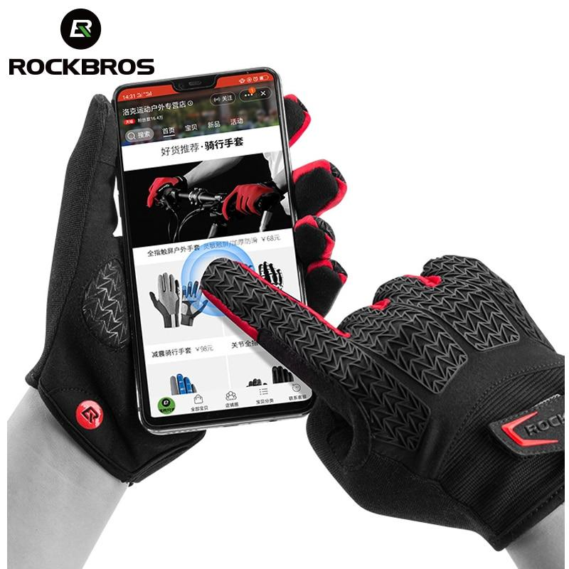 ROCKBROS RockPro Touch Screen Gloves-Electric Scooters London