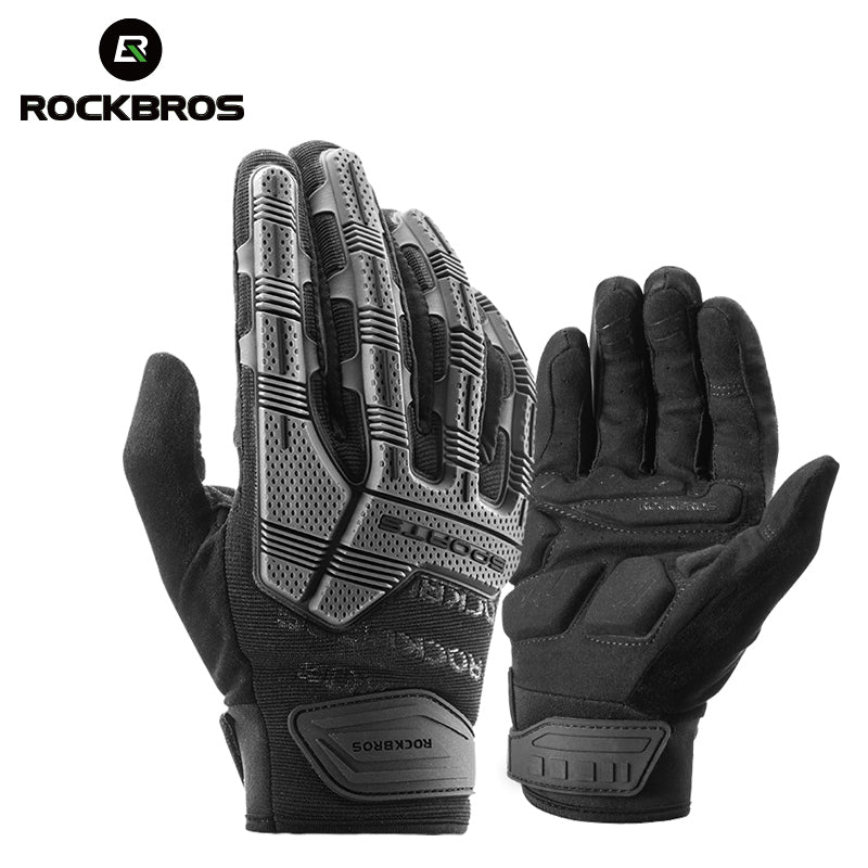 ROCKBROS RockPro Touch Screen Long Finger Winter Cycling Gloves-Electric Scooters London