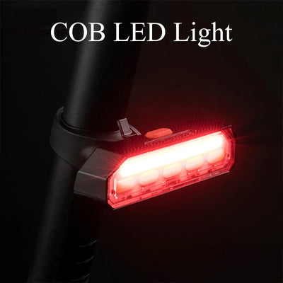 ROCKBROS Wireless COB LED Bike Bicycle Rear Light Indicator Light-Electric Scooters London