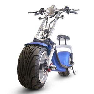 CityBot Fatboy Harley Style Road Legal Fat Wheel Electric Scooter Cruiser