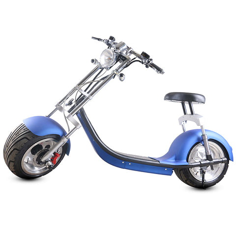 CityBot Fatboy Harley Style Road Legal Fat Wheel Electric Scooter Cruiser-Electric Scooters London