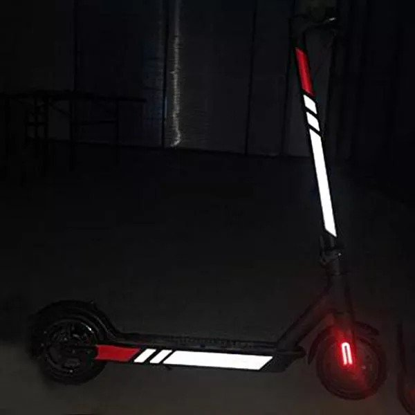 Reflective Decorative Stickers Styling Set for Xiaomi Mijia M365 Electric Scooter-Electric Scooters London