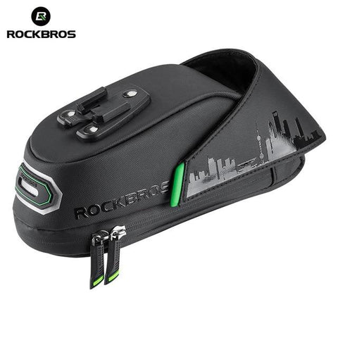 ROCKBROS Rainproof Bicycle Saddle Bag - C27-1-Electric Scooters London