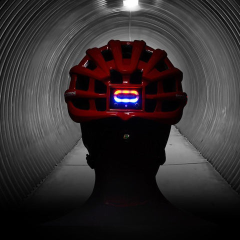Image of ROCKBROS Cycling Helmet with Integrated Lights-Electric Scooters London