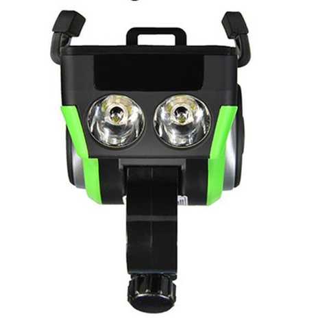 Image of ROCKBROS Multi-Function Bicycle Phone Holder Bike Light Bluetooth Audio Powerbank Integrated USB Charger-Electric Scooters London