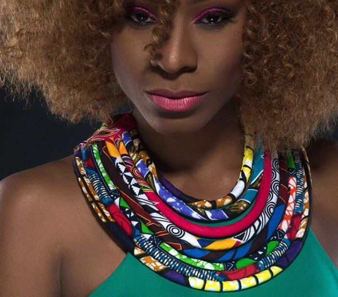 Ankara Rope Necklace, Bold