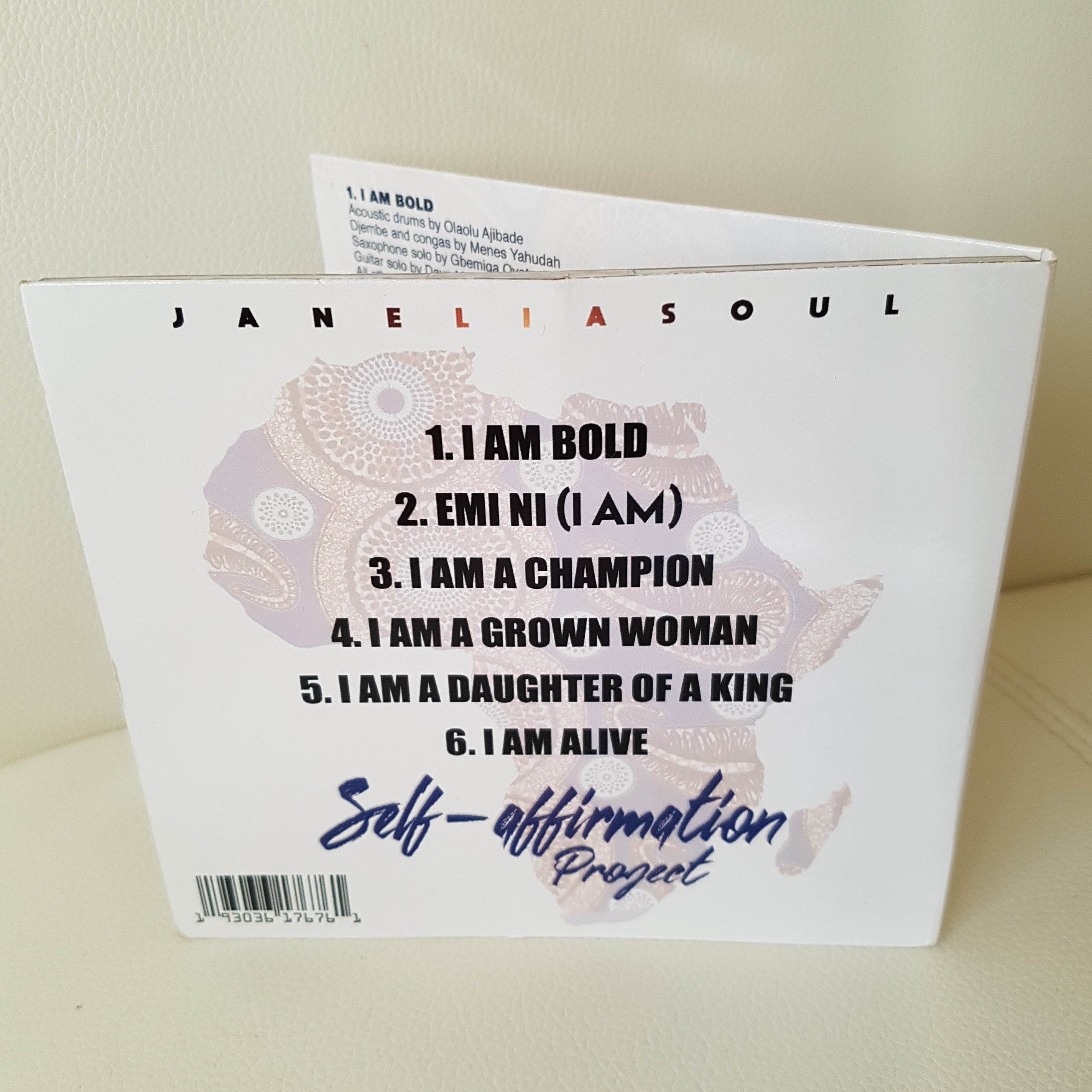 Self-affirmation Project, MP3 Or Autographed CD
