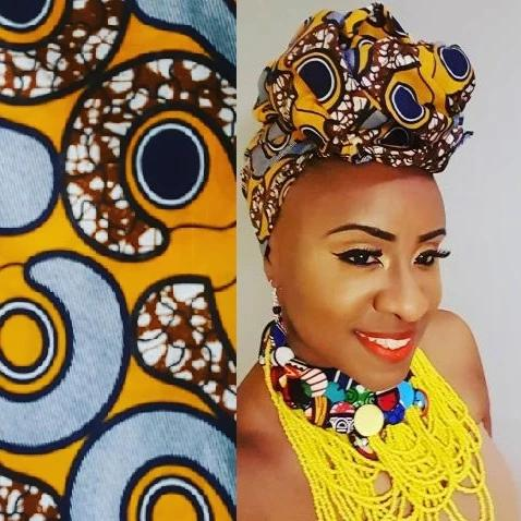 Head Wrap Fabric, Afrobeats Collection