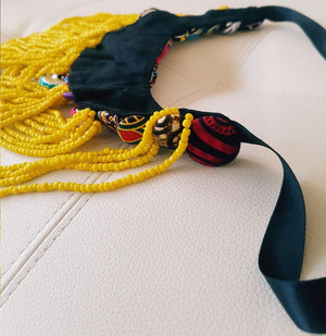 Handmade Ankara Necklace, Afrobeats Collection