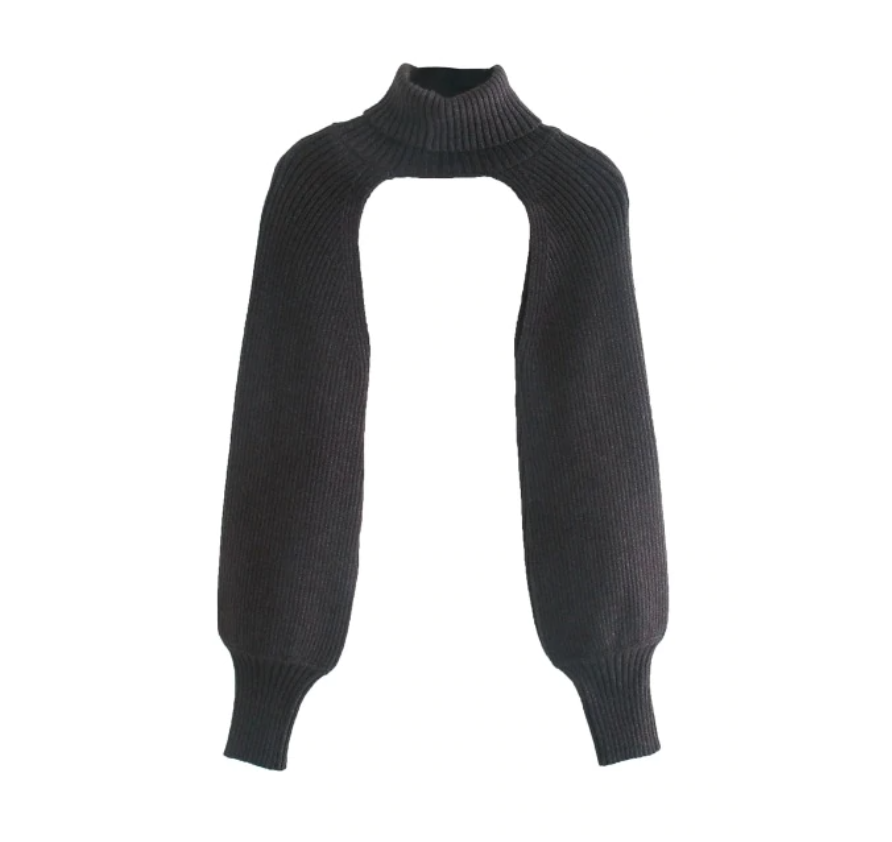 Turtleneck Pullover Sweater, One Size (S to 2XL)