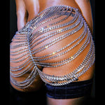 Waist Chain, Rhinestones, Afrobeats Collection