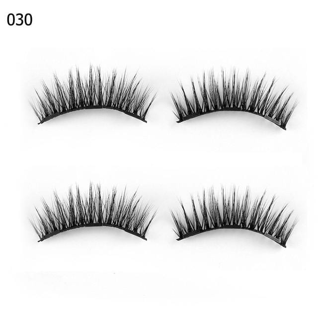 FREE Triple Magnetic False Eyelashes Extensions!