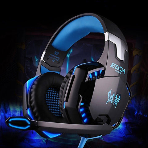 Image of Best Gaming Headset Mic LED Headphones for PC PS4 Xbox ONE 360E