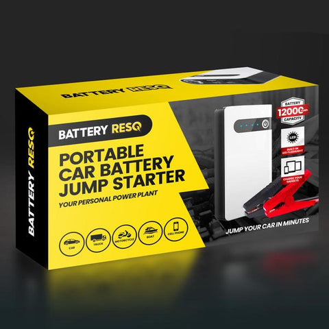Image of Identical To Battery ResQ Portable Car Battery Jump Starter!
