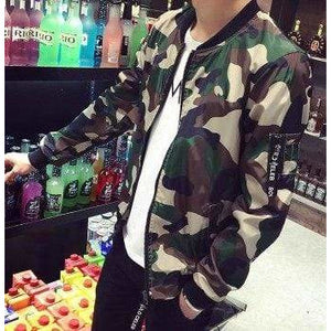 New 2019 fashion camouflage thin jacket men military style bomber jacket men veste homme men's clothing plus size m-5xl /JK14