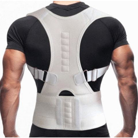 Image of 63% OFF Back Brace Posture Corrector | Best Fully Adjustable Support Brace | Improves Posture and Provides Lumbar Support | For Lower and Upper Back Pain | Men and Women