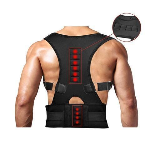 Image of Back Brace Posture Corrector | Best Fully Adjustable Support Brace | Improves Posture and Provides Lumbar Support | For Lower and Upper Back Pain | Men and Women