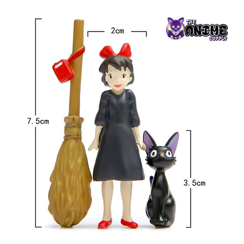 Kiki's Delivery Service Action Figures