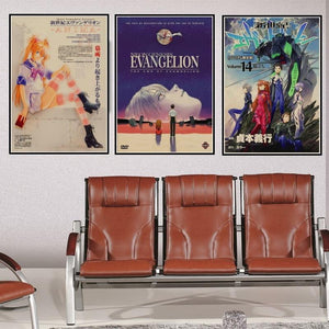 Neon Genesis Evangelion the end of Evangelion Vintage Retro Poster