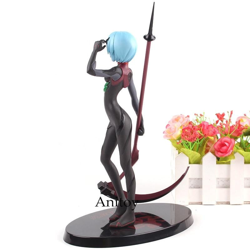 Neon Genesis Evangelion Ayanami Rei - Black Plugsuit Figure Collection 21cm