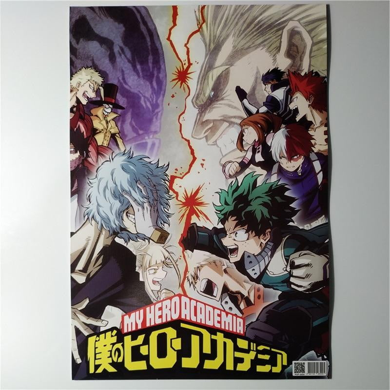 8*(42x29cm) My Hero Academia posters Wall Stickers