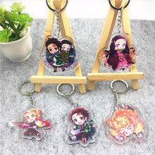 Load image into Gallery viewer, Demon Slayer Keychains Alternate 2