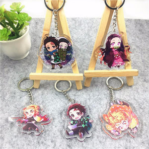 Demon Slayer Keychains Alternate 2