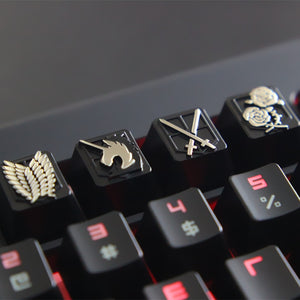 Attack On Titan Mechanical Keyboard Keycaps