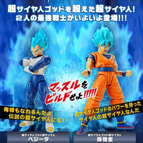 Bandai Dragon Ball Z / Super Action Figure Model Kits
