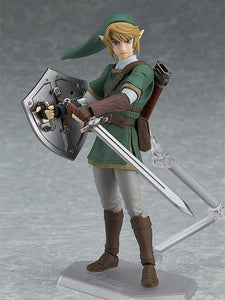 Figma 319 Legend Of Zelda  Link : Twilight Princess Ver. 320 DX Edition
