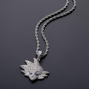 Goku Pendant Necklace Dragon Ball Z Chain