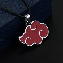 Load image into Gallery viewer, Naruto Akatsuki Cloud Necklace