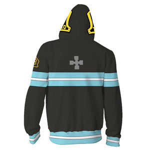 Enn Enn No Shouboutai Fire Force Hoodie
