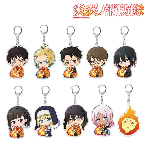 Enn Enn No Shouboutai Fire Force Keychain