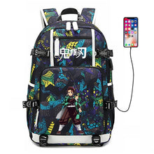 Load image into Gallery viewer, Demon Slayer Backpack